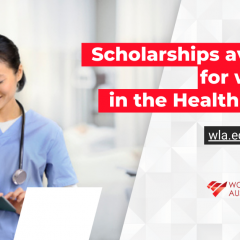 Leadership scholarships for women in the health sector